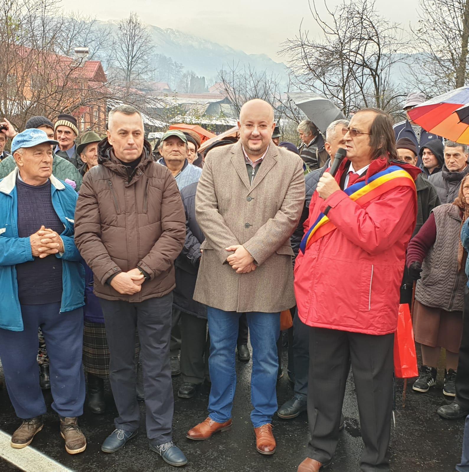 Pod nou peste râul Otăsău, inaugurat la Bărbătești