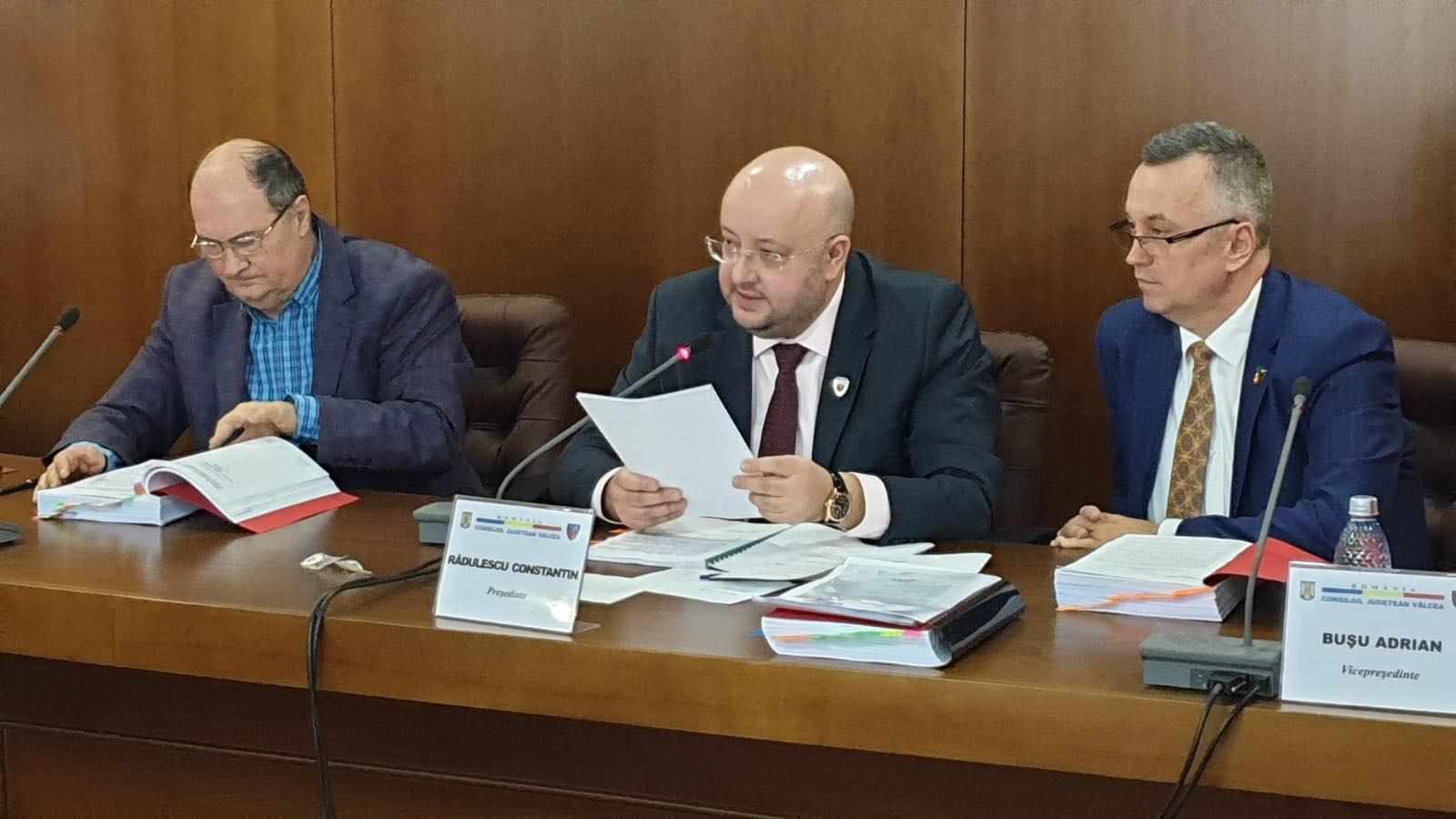 Noi fonduri, alocate de CJ Vâlcea, în lupta cu epidemia de coronavirus