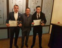 Adi Popa, Robert Popa şi Gabi Mangalagiu, laureaţii anului în fotbalul vâlcean