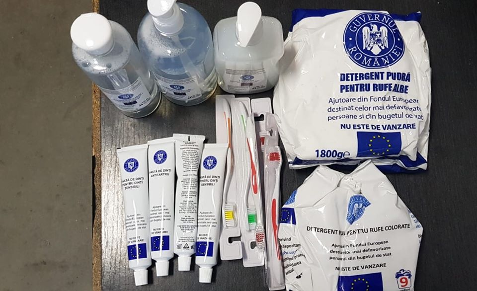 De marți 4 februarie începe distribuirea ajutoarelor de la Uniunea Europeană, prima etapă: pachetele cu produse de igienă