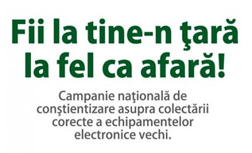 """CAMPANIA DE INFORMARE """"FII LA TINE-N ȚARĂ LA FEL CA AFARĂ!"""""""