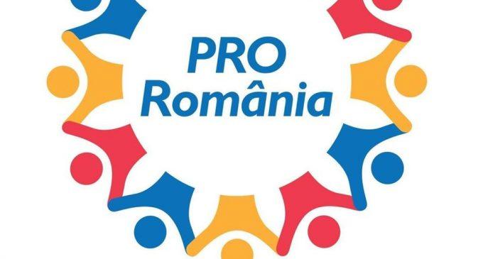 Pro România organizează o conferinţă a organizaţiei municipale