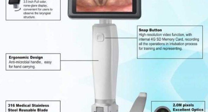 Rotary Club Râmnicu Vâlcea donează Spitalului Județean de Urgență Vâlcea un Video laringoscop de ultimă generație