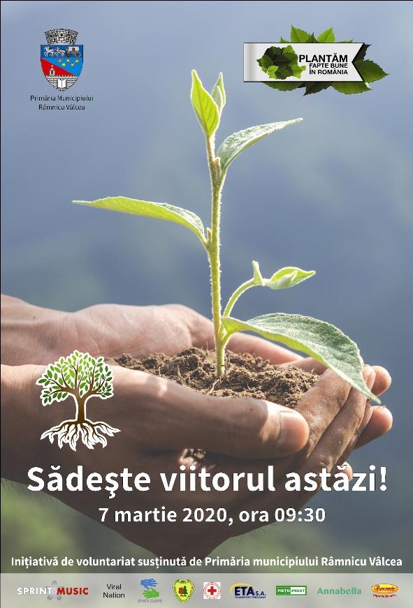 Sâmbătă se plantează copaci în zona Feţeni
