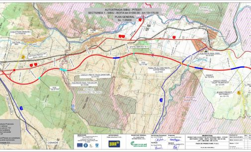 Autostrada Sibiu – Pitești:  au început oficial lucrările pentru lotul 1, Sibiu – Boița