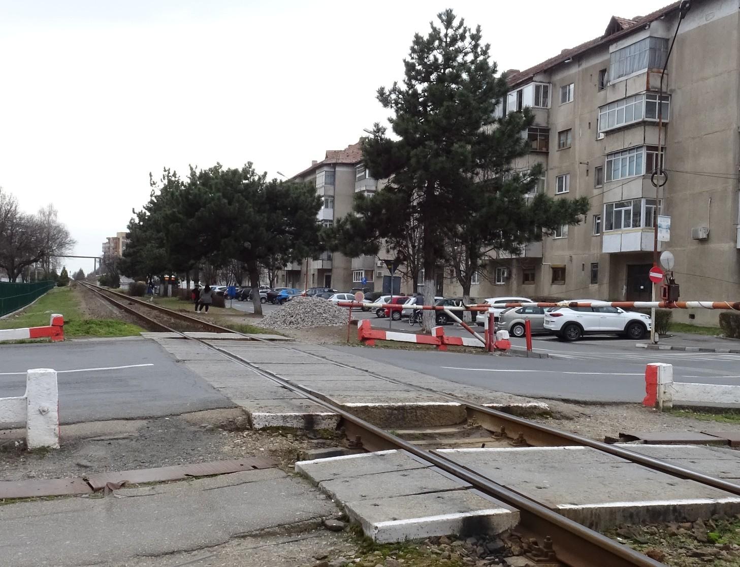 Se restricţionează traficul pe str. Mihai Eminescu începând cu 9 martie