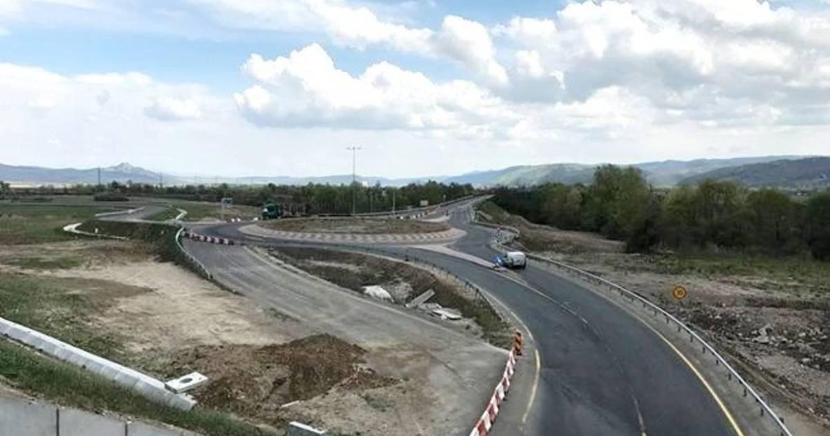"""""""Breteaua nordului"""", legătura Călimăneștiului cu autostrada a intrat  în linie dreaptă"""