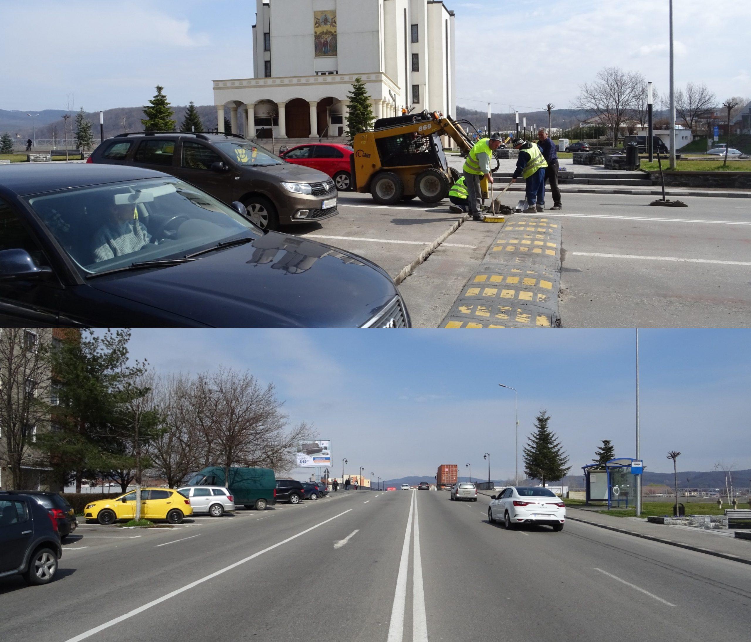 Începe asfaltarea podului de pe bulevardul Tineretului