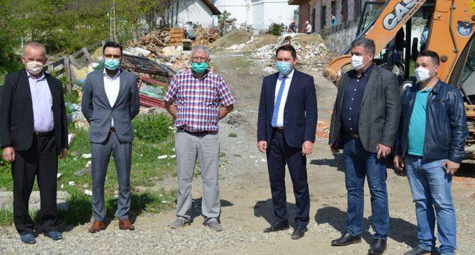 Vizită de lucru pe şantierele comunei Goleşti