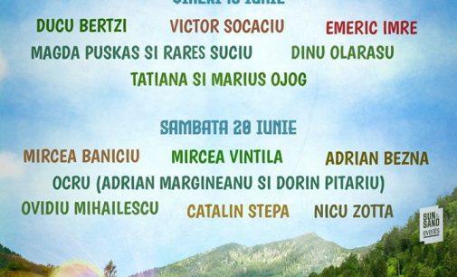 La Brezoi, vara vine pe acorduri de muzică folk