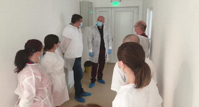 Laborator de testare pentru depistarea COVID-19, funcţional la SJU Vâlcea începând de luni
