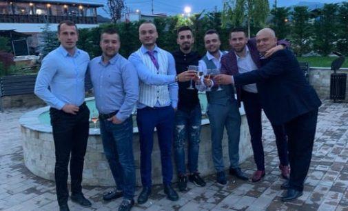 Adi Stănică a fost năşit de Gabi Precup