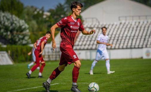 Vlad Mocioacă a debutat pentru Rapid în eșalonul secund