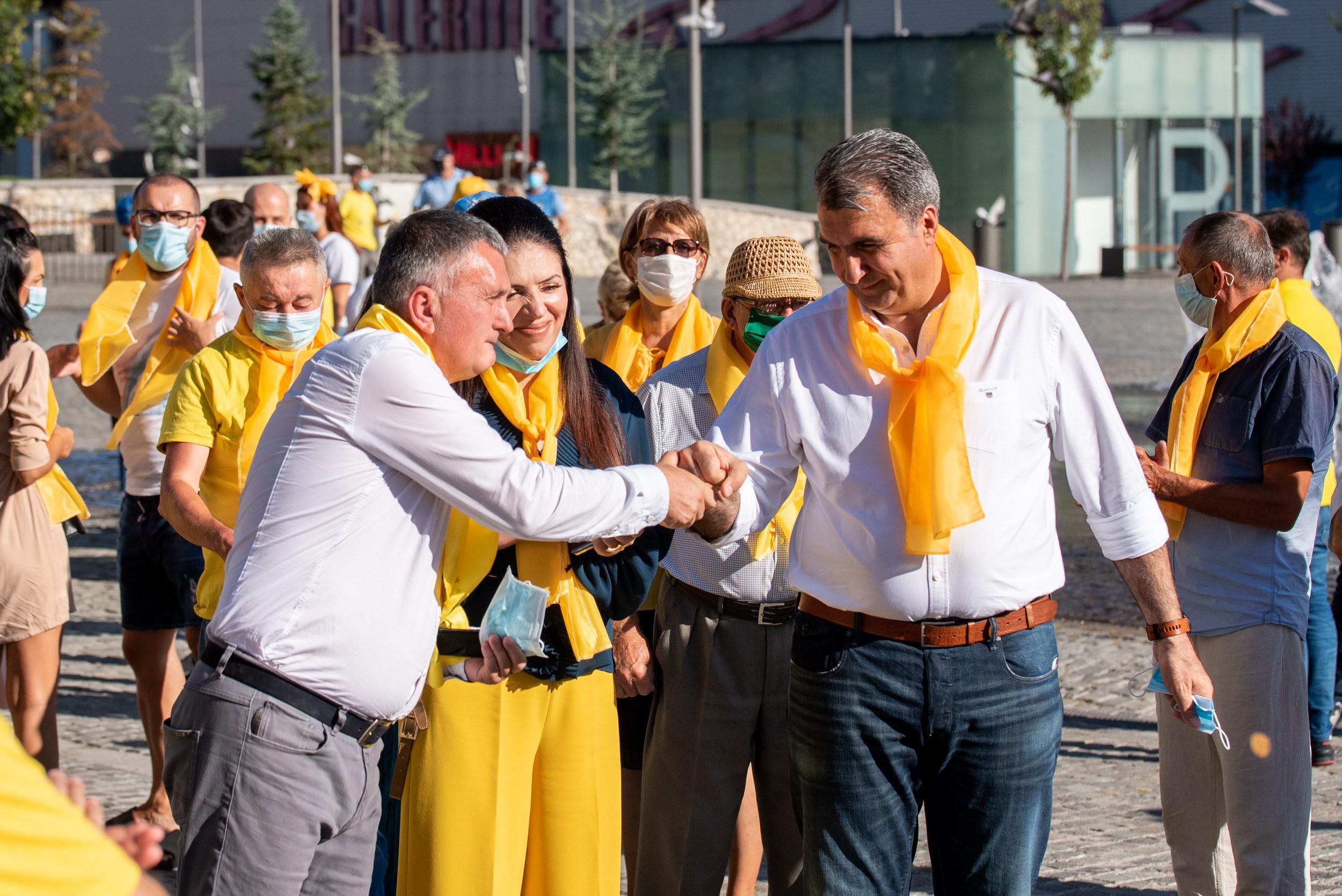 PNL Râmnicu Vâlcea a dat startul campaniei pentru alegerile locale