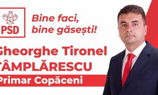 """Tironel Tâmplarescu: """"Mulțumim tuturor pentru sprijinul și încrederea acordată"""