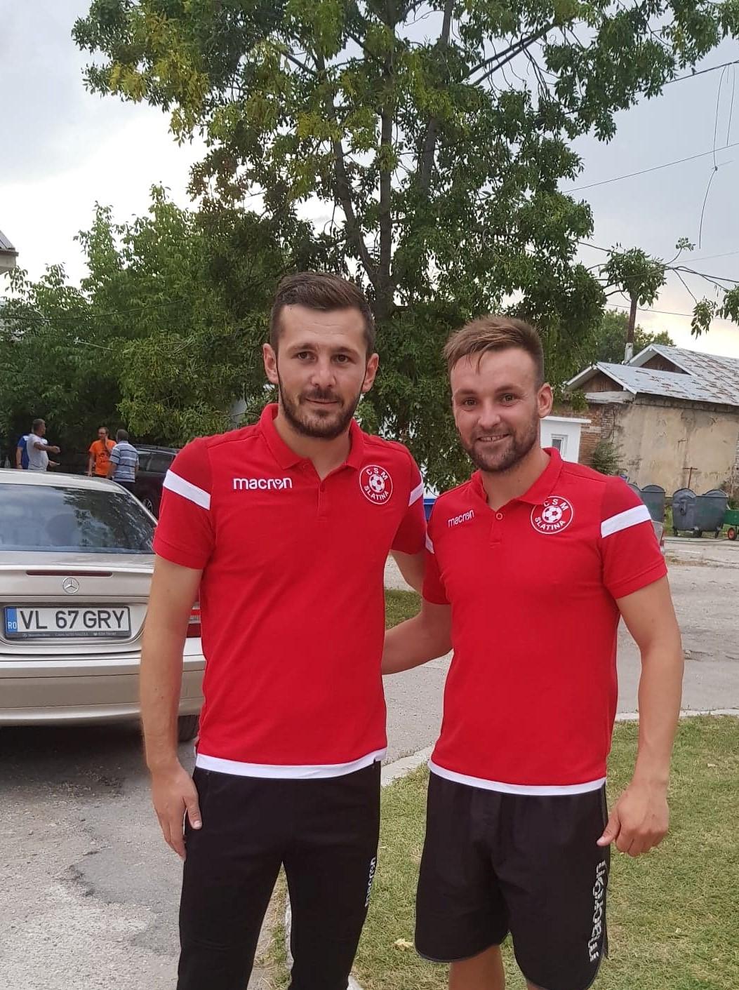 Grigore Ceapă și Ovidiu Popescu au promovat cu Slatina