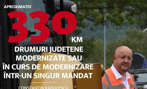 Record obținut de Constantin RĂDULESCU, în mandatul de Președinte al Consiliului Județean Vâlcea