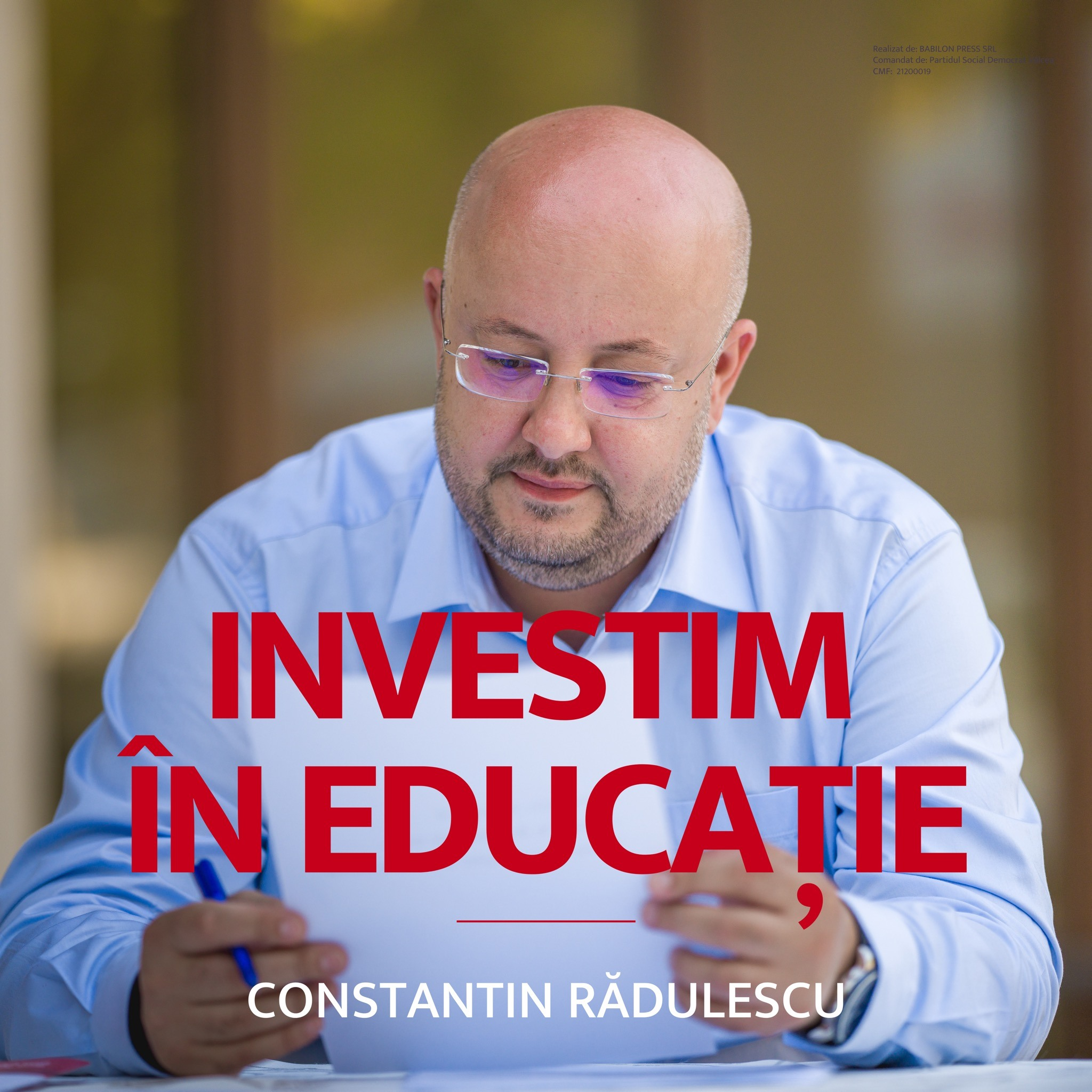"""Constantin RĂDULESCU: """"Vom înființa Cyber Smart Academy, proiect prin care tinerii vor fi şcoliţi în domeniul IT"""""""