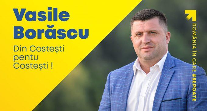Vasile Borăscu, program electoral ALEGERI LOCALE COSTEȘTI 2020