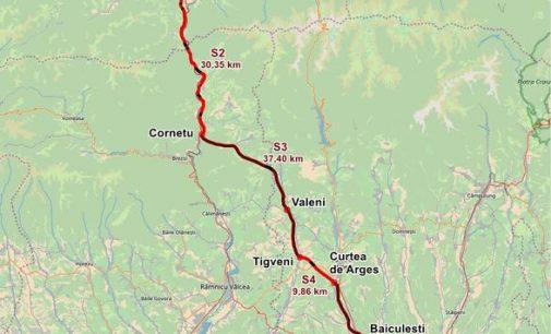 CNAIR licitează pentru proiectarea și execuția lotului 3 din autostrada A1 Sibiu – Pitești