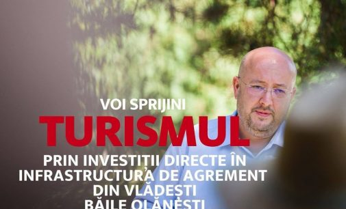 """Constantin Rădulescu: """"Voi sprijini turismul, prin investiții directe în infrastructura de agrement"""""""