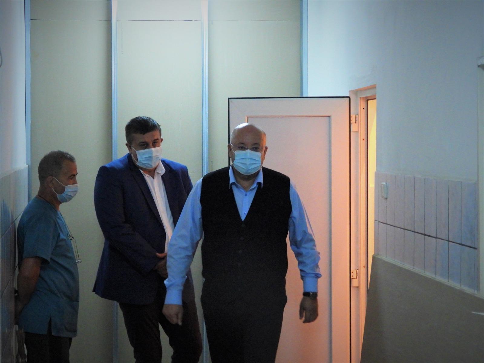 S-a dat ordinul de începere a lucrărilor de reabilitare a ambulatoriului Secției Oncologie