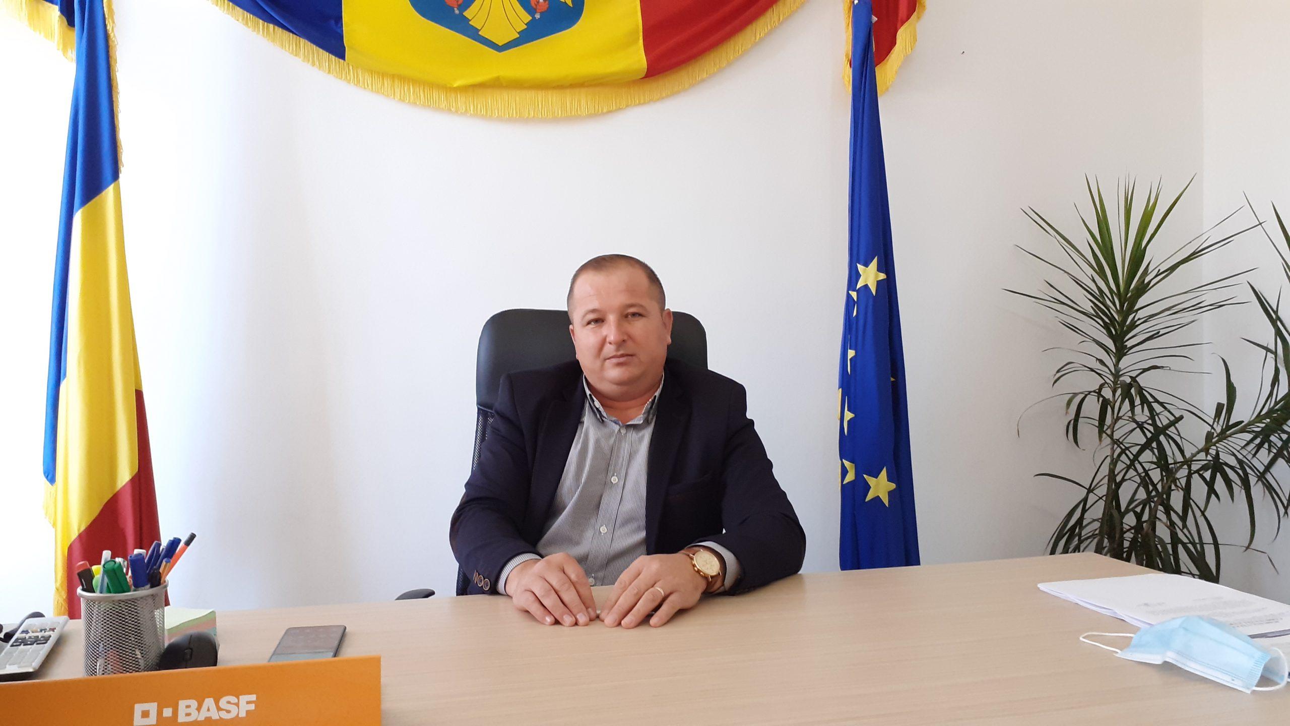 Primul proiect demarat de Dorel Ancuţa, noul primar al localităţii Sălătrucel