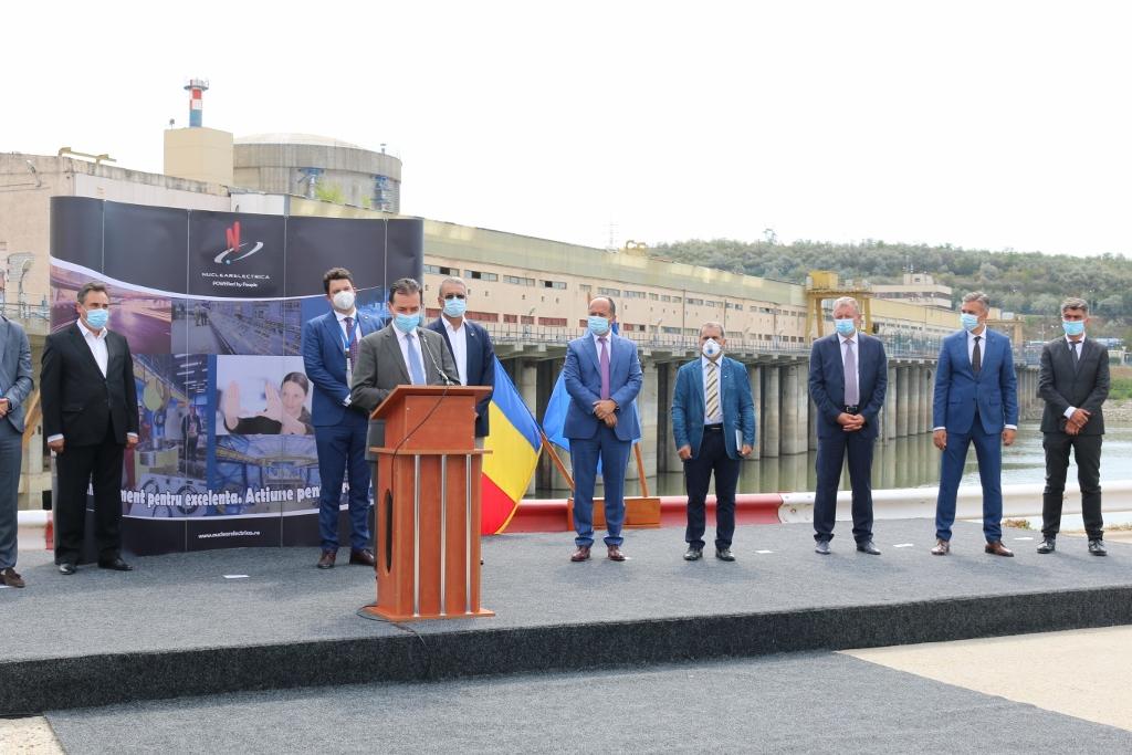 Candidatul PNL Valcea, GHEORGHE IONIȚĂ, dă asigurări privind viitorul: ROL  STRATEGIC,  REGIONAL PENTRU  COMPLEXUL ENERGETIC OLTENIA