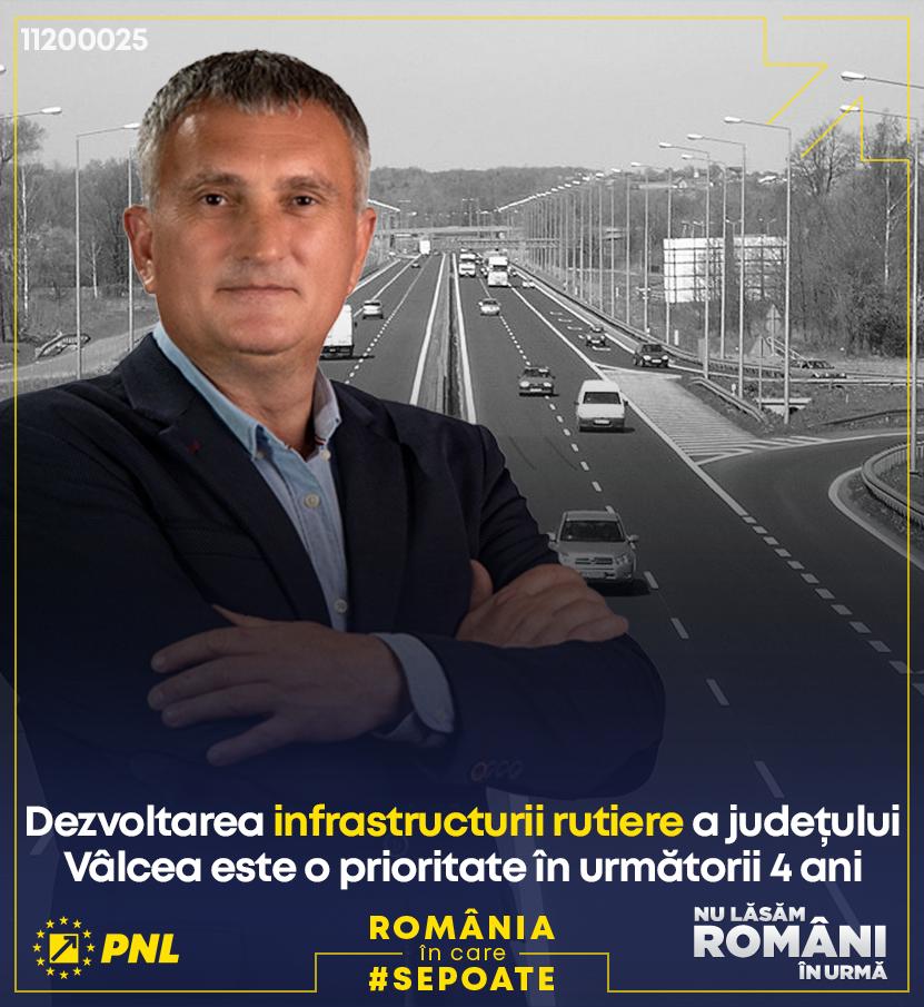 Preşedintele PNL Vâlcea, deputatul Cristian Buican – candidatul PNL pentru Camera Deputaţilor