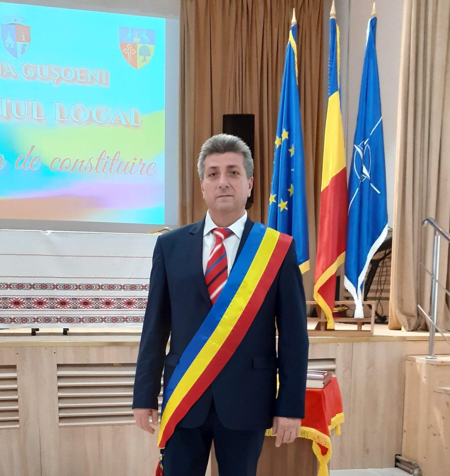 """Nicolae Concioiu: """"Vă garantez că voi face tot ce îmi stă în putinţă să duc mai departe obiectivele şi proiectele pe care le-am oferit electoratului"""""""