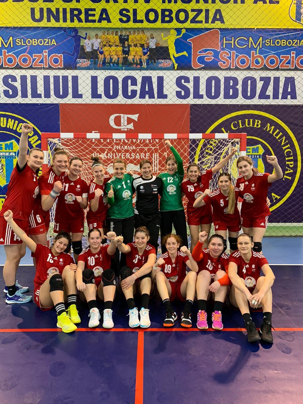 Centrul Național câștigă jocurile de la Slobozia și urcă pe locul 2 în Seria C din Divizia A