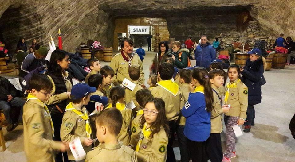 Lupii ageri de la Popești-Leordeni participă la Școala de iarnă, la Obârșia Lotrului