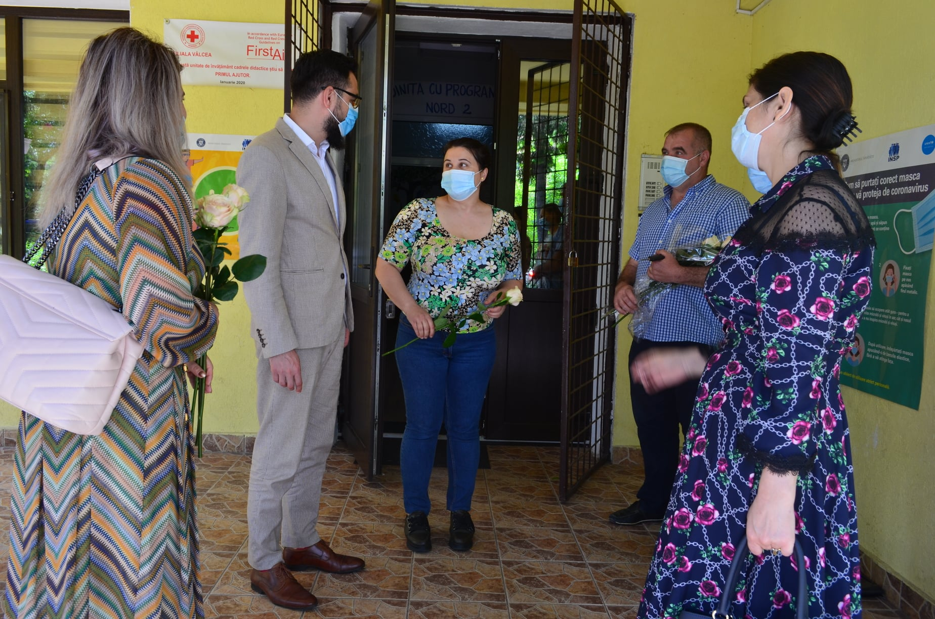 100% rată de vaccinare a personalului la grădinița cu program prelungit Nord 2