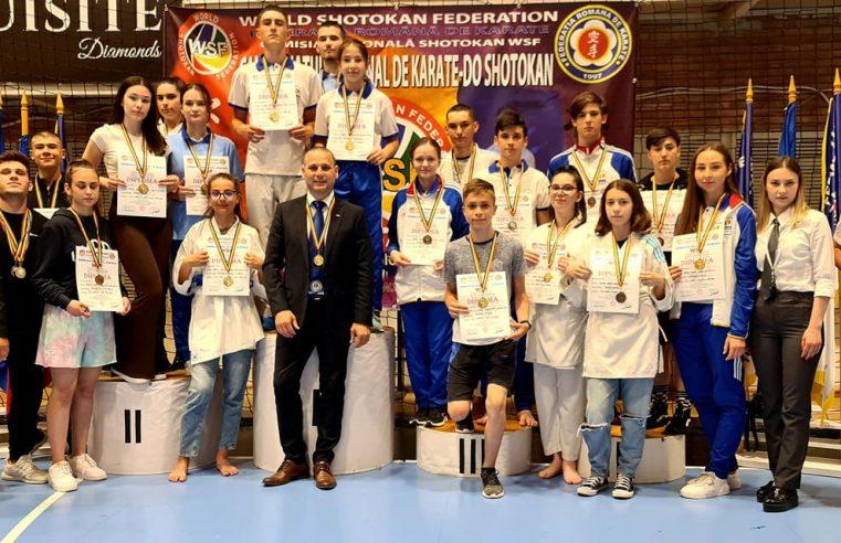 Salbă de medalii pentru karateka de la Chimia
