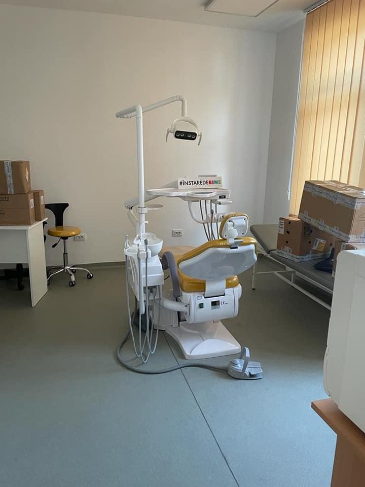 Cabinet nou de stomatologie pentru copii deschis în comuna Budești