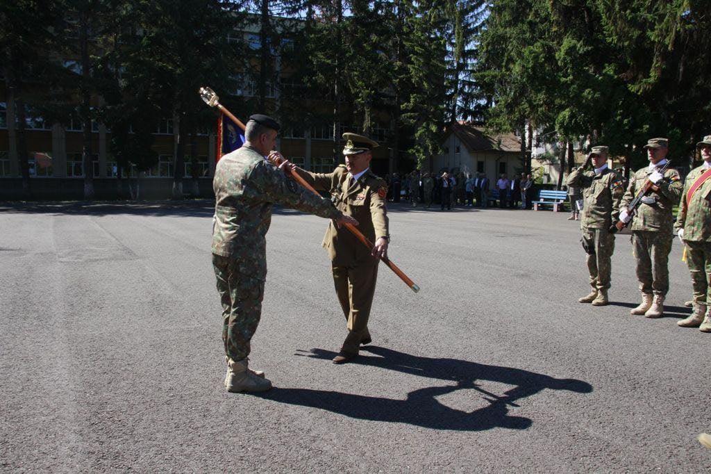 Ceremonie militară de predare a comenzii a unui colonel inginer – Râmnicu Vâlcea