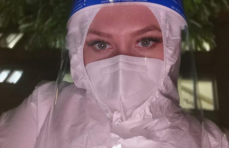 Asistentă din Râmnicu Vâlcea face declarații despre viața din spital din timpul pandemiei de COVID-19