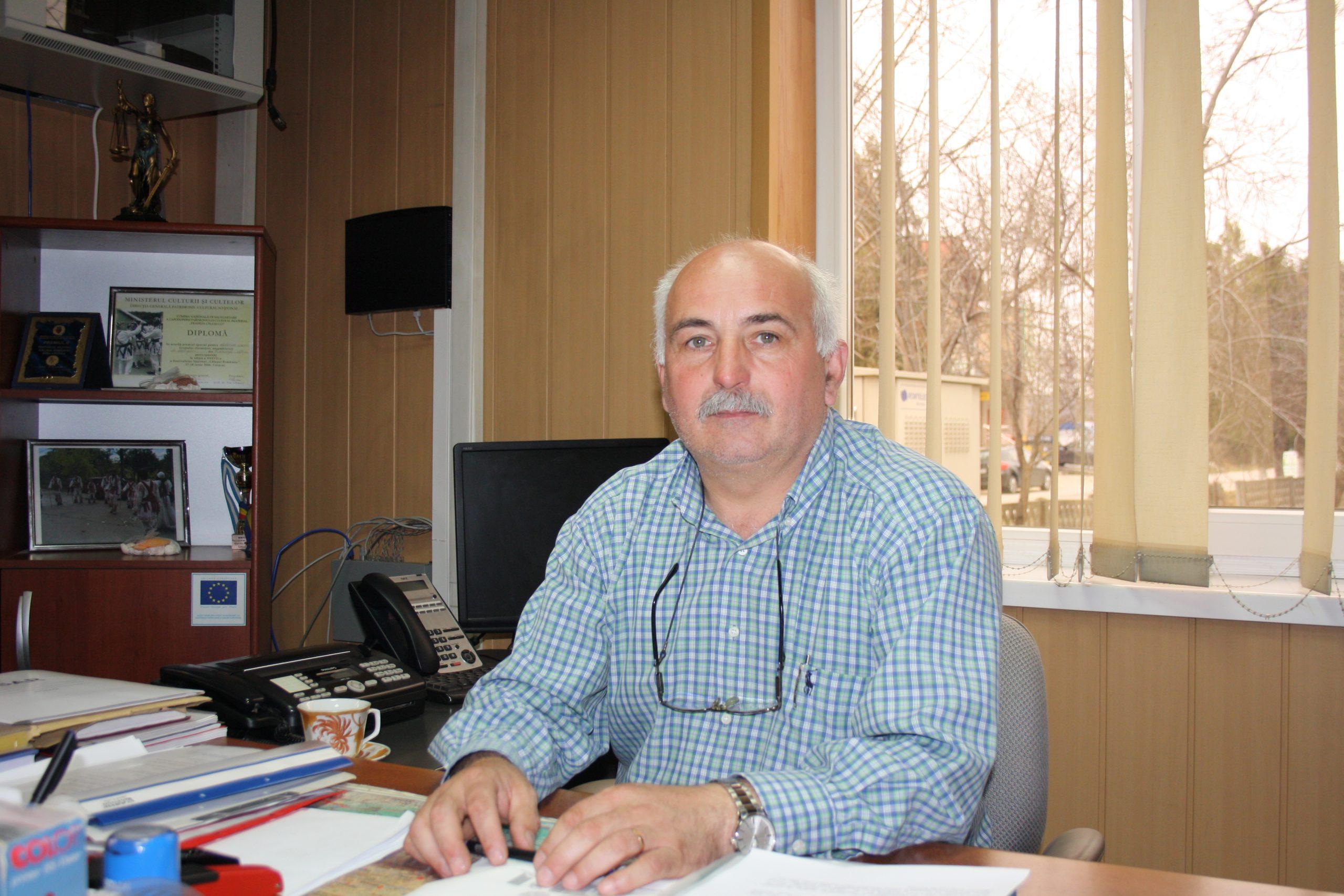 Daniel Paraschiv a prezentat proiectele din acest an, pentru Frânceşti