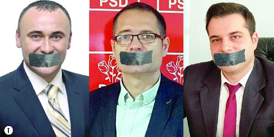 Politicienii vâlceni s-au îmbolnăvit de muţenie