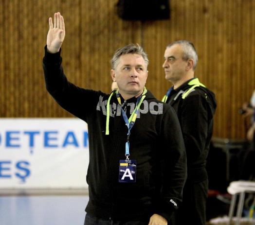 Aurelian Roșca este noul antrenor al HCM Râmnicu Vâlcea