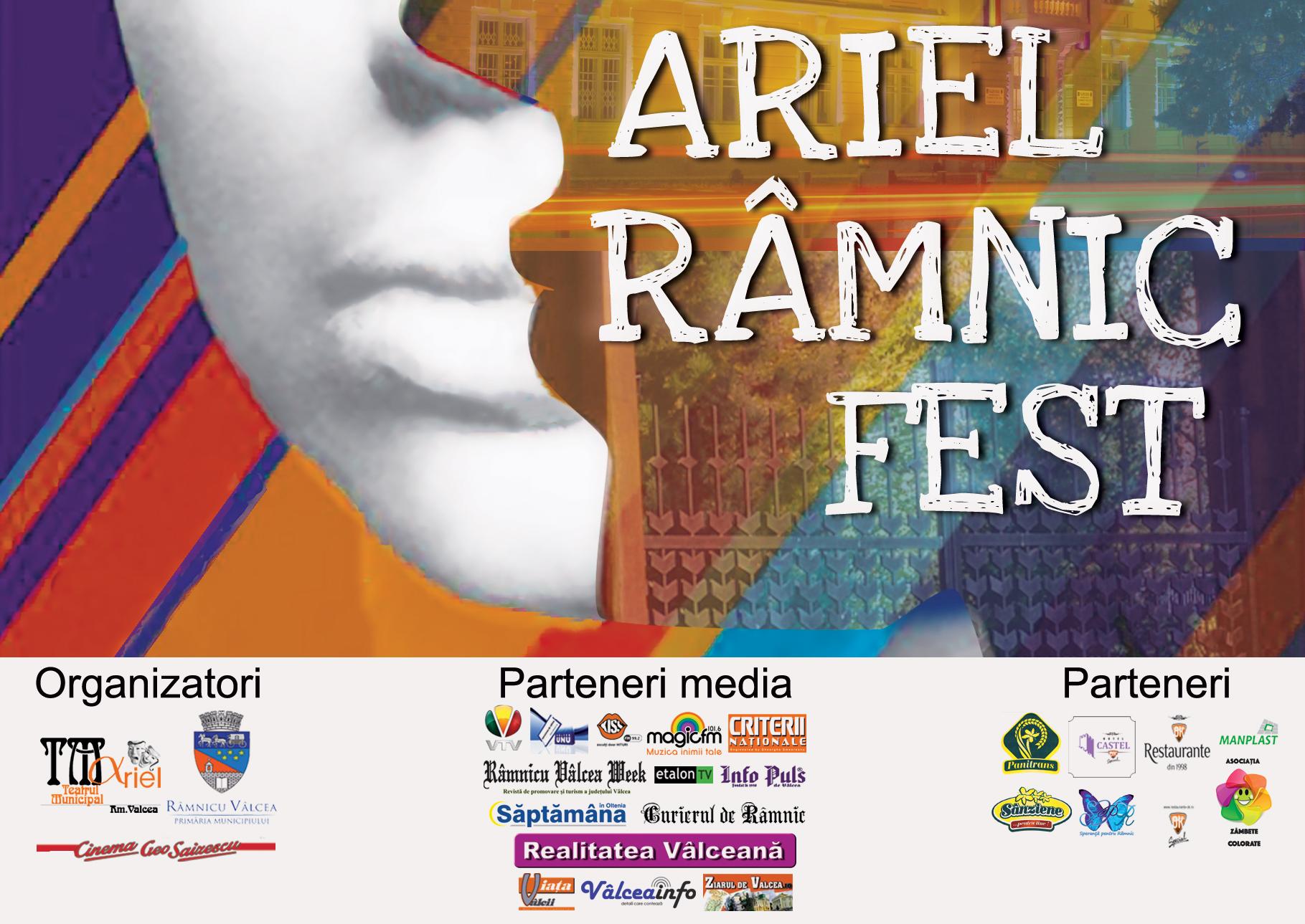 """Primăria Râmnicului alocă 200.000 de lei pentru Festivalul de Teatru """"Ariel Râmnic Fest"""""""