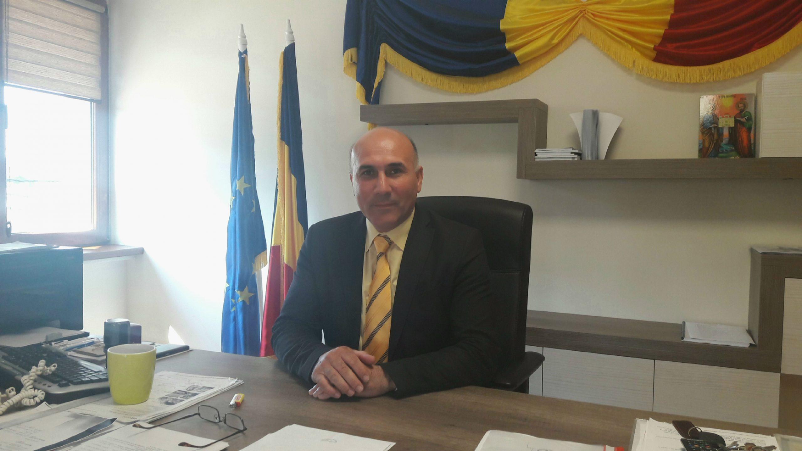 """Ionel Vlădulescu: """"Avem nevoie de sprijin să dezvoltăm şi mai mult zona industrială"""""""