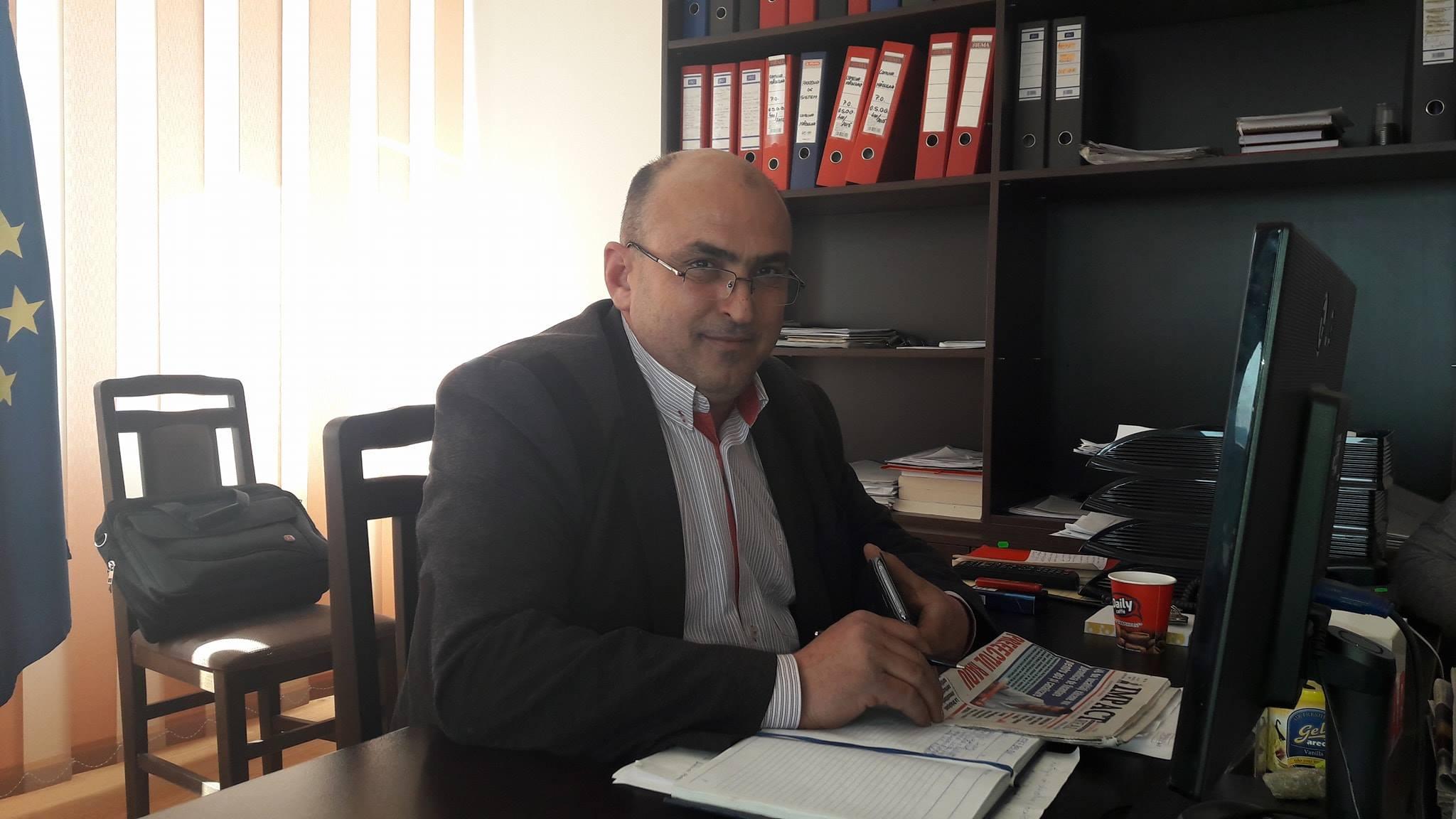 Dimulescu atrage fonduri europene în localitate şi finalizează lucrările pe DC63A