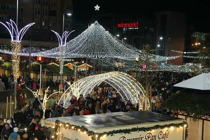 """Mircia Gutău: """"Râmnicul a intrat în elita celor mai frumoase Târguri de Crăciun din România"""""""