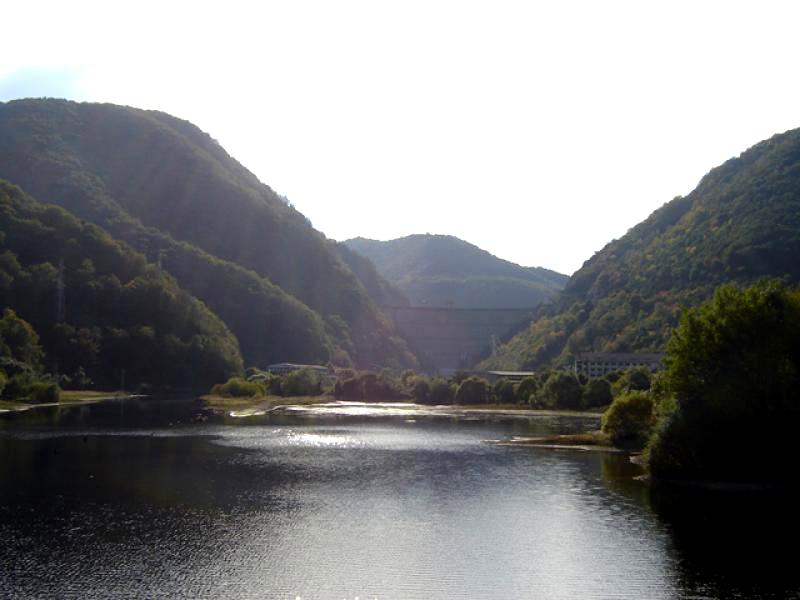 Lacul Someşul Cald, unul dintre cele mai mari din judeţ