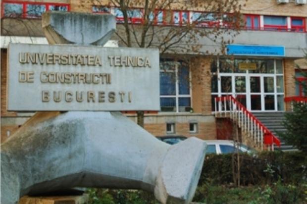 Universitatea Tehnică de Construcţii Bucureşti (UTCB), o universitate cu tradiţie