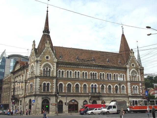 Palatul Szeky, unul dintre edificiile din epoca modernă a Clujului
