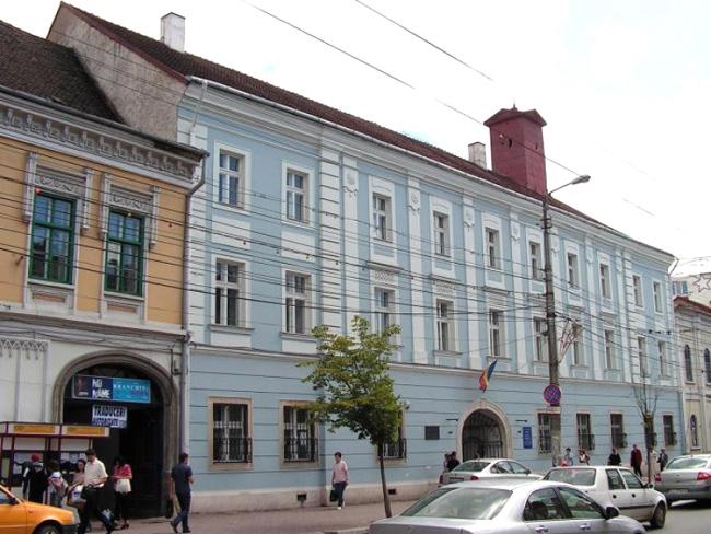 Palatul Reduta găzduieşte Muzeul Etnografic al Transilvaniei