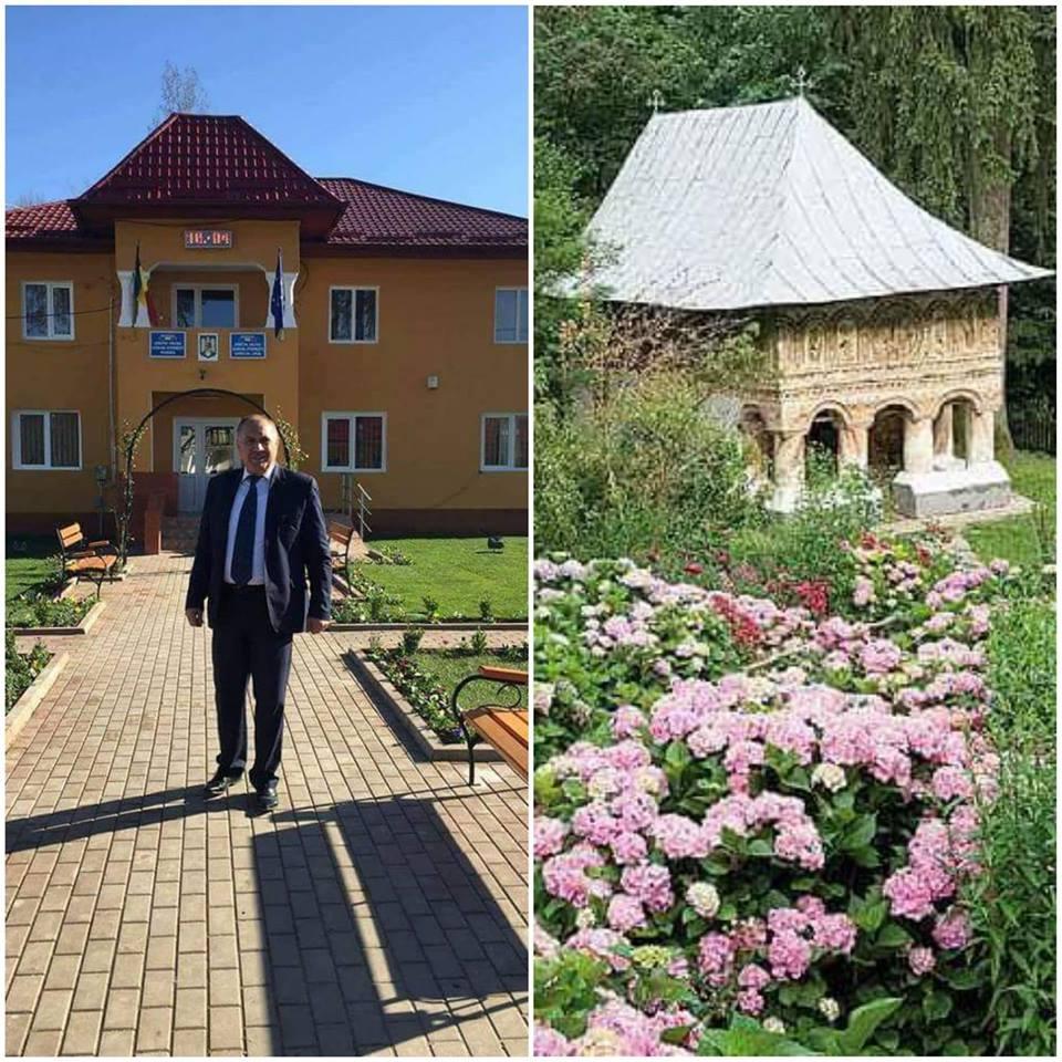 Primarul Gheorghe Dumbravă vrea să finalizeze infrastructura în comună. Proiect de asfaltare şi gaze naturale, prin FSI
