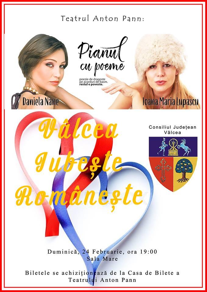 De Dragobete, Vâlcea Iubeşte Româneşte! Vezi ce evenimente se organizează în județ, pe 24 februarie